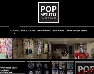 Popartistes Galerie d'Art Menton