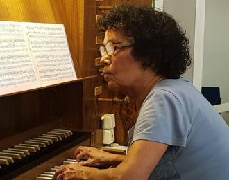 Récital d'orgue d'Annie Leenhardt