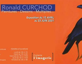 Ronald Curchod, « Peintures / Dessins/ Multiples... »