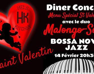 Saint Valentin Diner/Concert