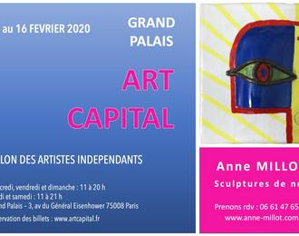 Sculptures de nez à Art Capital 2020