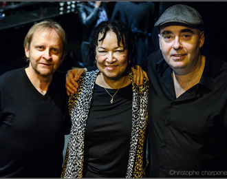 Shahin Novrasli trio Rhoda Scott / Christophe Monniot / Jeff Boudreaux