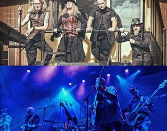 Soirée rock chez le Baron de Bayanne : Morrighans & Siiilk