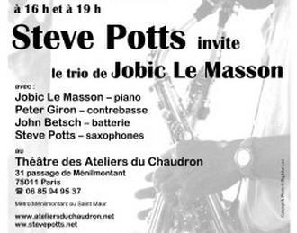 Steve Potts Paris 11ème