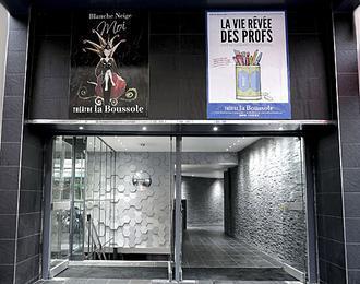 Théâtre La Boussole Paris 10ème