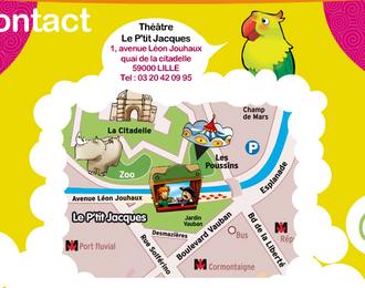 Théâtre le P'tit Jacques Lille