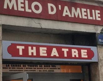 Théâtre Mélo d'Amélie Paris 2ème