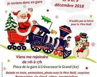 Train du Père Noël 2018