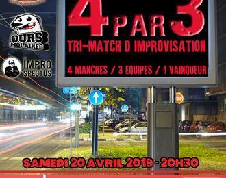Tri Match d'improvisation théâtrale