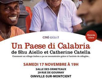Un Paese di Calabria - Ciné débat