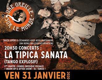 Une Oreille sur le Monde - Concerts - Soirée Tango Argentin!