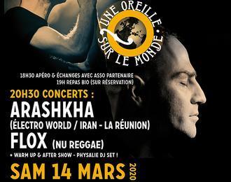 Une Oreille sur le Monde - Concerts - Soirée Énergie #2!