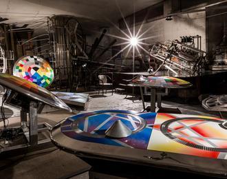 Visite Insolite Sous La Défense :atelier Secret Souterrain Expérimental