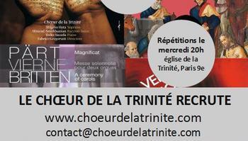 Choeur de la Trinité