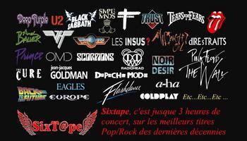 SIXTAPE groupe de reprises Pop Rock