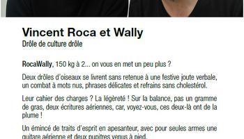 Vincent Roca et Wally