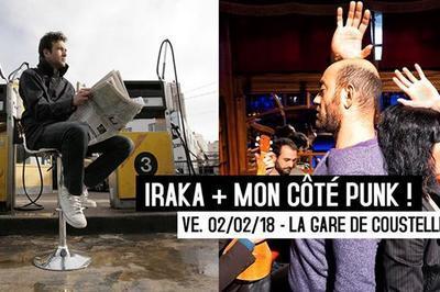 Mon côté punk + Iraka à Maubec