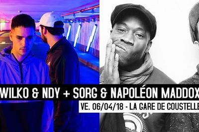 06/04/18 : Sorg & Napoleon Maddox + Wilko & Ndy à Maubec