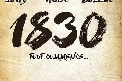 1830 Sand Hugo Balzac Tout Commence à Paris 4ème