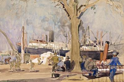 1917-1919, Saint-nazaire Base Américaine: Des Objets Pour Le Dire à Saint Nazaire