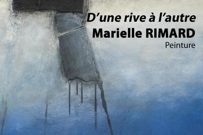 Marielle RIMARD, d'une rive à l'autre à Viviers