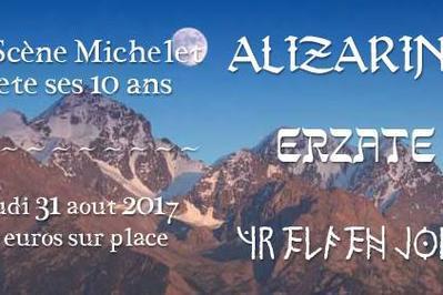 Alizarina - Erzate - Yr Elfen Jord / 10 ans du Michelet ! à Nantes