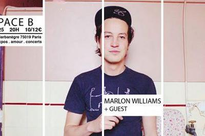 Marlon Williams + guest à Paris 19ème