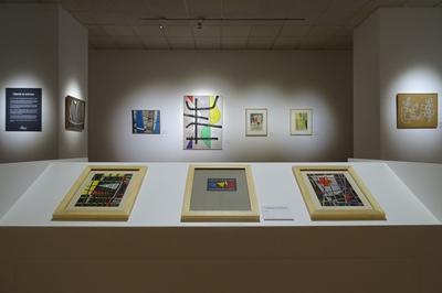 Chasse Eau 13 Or Dans L'exposition Temporaire Jean Leppien (1910-1991) à Cholet