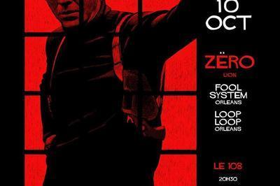 Concert Rock:  Zëro /  Fool System  /  Loop Loop  à Orléans