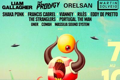 Pass : The Prodigy + Liam Gallagher à Argeles sur Mer