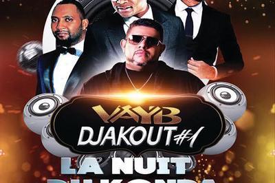 La Nuit Du Kompa : Vayb, Djakout, à Aubervilliers