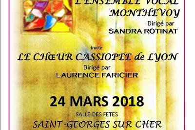 Concert Varietes Franbcaises à Monthou sur Cher