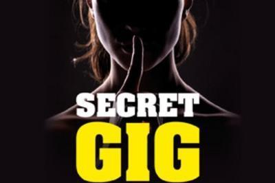 Concert de blues - Secret Gig, un concert secret à Beauvais