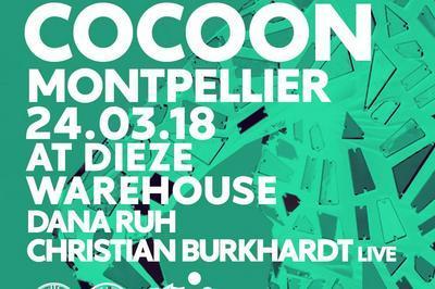 Cocoon Montpellier At Dieze : Dana Ruh, Christian Burkhardt Live