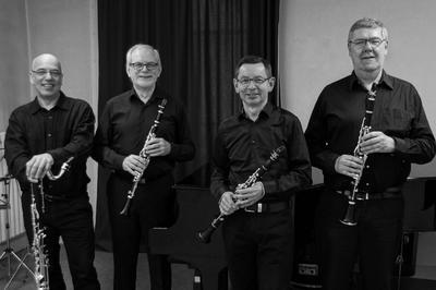 Quatuor De Clarinettes Denner Sannois à Auvers sur Oise