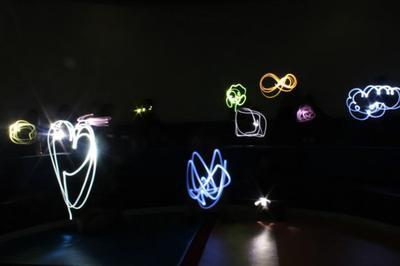 Atelier Light Painting Animé Par Marie Paccou De La Maison Aux Mille Images à Roanne