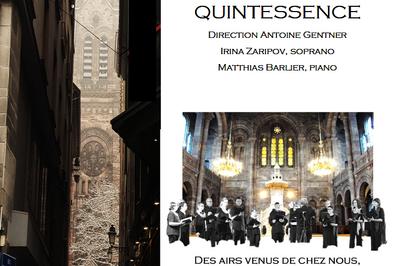 Des airs venus de chez nous, d'Océanie, d'Afrique, d'Amérique airs traditionnels et sacrés des cinq continents à Strasbourg