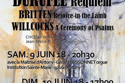 Requiem de Durufle à Antony