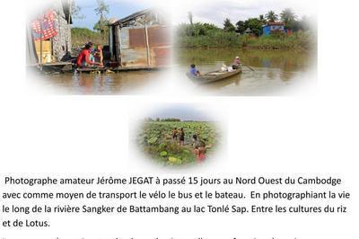 Cambodge : au fil de la riviere Sangker  à Bohal