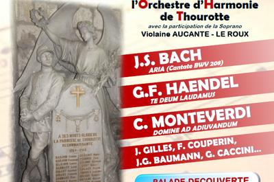 Concert de l'Armistice à Thourotte