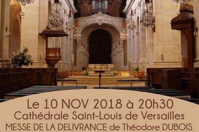 Concert franco-allemand : Messe de la délivrance, de Théodore Dubois à Versailles