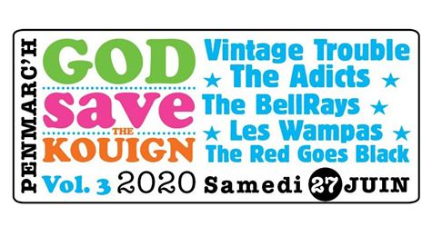 Festival God Save The Kouign Vol. 3 2020