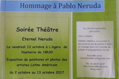 Hommage à Pablo Naruda à Nanterre