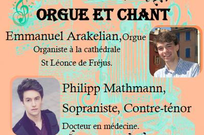 Concert Orgue et chant à Nice