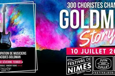 300 Choristes chantent Goldman et Emmanuel Moire à Nimes