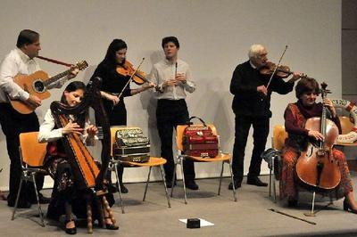 Concert irlandais avec le fameux groupe trotwood dans un nouveau programme à Saint Etienne