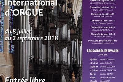 44e festival International d'Orgue 2018