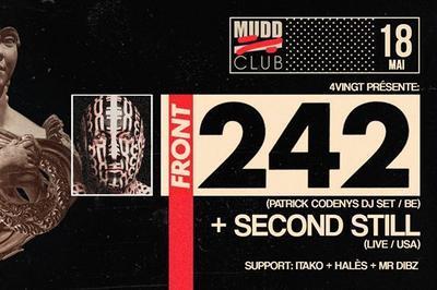 4vingt w/ Front 242 DJset (Patrick Codenys) + Second Still à Strasbourg