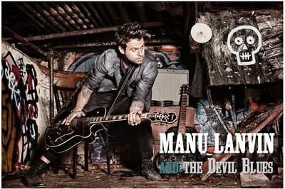 Manu Lanvin en concert chez les BarsBars à Sainte Menehould
