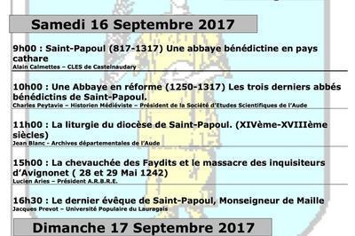 700ème Anniversaire De La Création De L'évêché De Saint-papoul à Saint Papoul